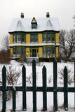 房子老维多利亚女王时代的著名人物 免版税库存照片