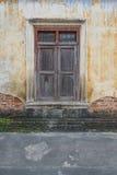 房子老视窗 图库摄影
