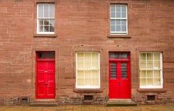 房子苏格兰 库存图片