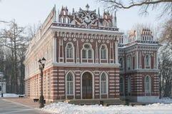 房子莫斯科歌剧tsaritsino 免版税库存图片