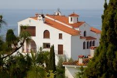 房子西班牙 免版税图库摄影