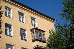 房子视图 免版税库存图片