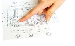 房子计划 库存图片