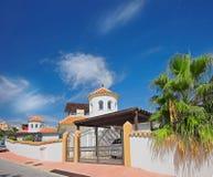 房子豪华西班牙 免版税库存照片