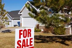 房子销售额 免版税库存图片