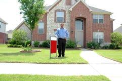 房子销售额 库存图片
