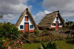房子马德拉岛 免版税库存照片