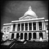 房子马萨诸塞状态 库存图片