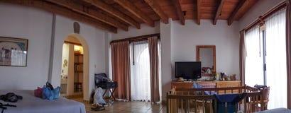 房子,墨西哥城,墨西哥的内部 免版税库存照片