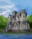 房子维多利亚女王时代的著名人物 图库摄影