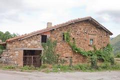 房子mogrovejo老石头 免版税库存照片