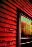 房子popart房屋板壁 库存照片