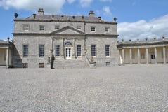 房子russborough 免版税图库摄影