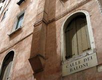 房子s威尼斯 免版税库存照片
