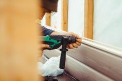 房屋板壁的设施 免版税图库摄影