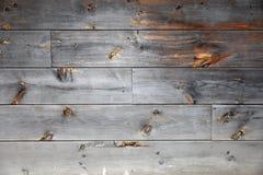 房屋板壁被风化的木头 库存图片