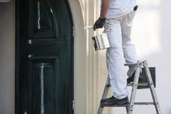 房屋油漆工 库存图片