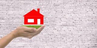 房屋贷款,房子保险 免版税图库摄影