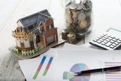 房屋贷款概念照片 免版税库存照片