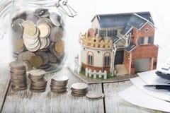 房屋贷款概念照片 库存照片