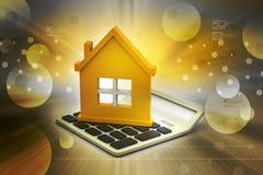 房屋贷款概念 图库摄影