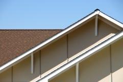 房檐屋顶顶层 免版税库存照片