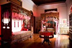 房间中国老婚礼 免版税库存照片