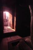 房间印度尼西亚Java prambanan寺庙 库存照片