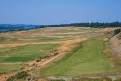 房间海湾高尔夫球场 库存图片
