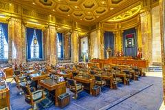 房间议院在路易斯安那 免版税库存照片
