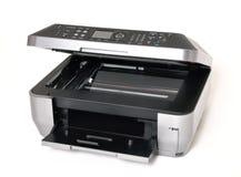 所有上色一台打印机 免版税库存照片