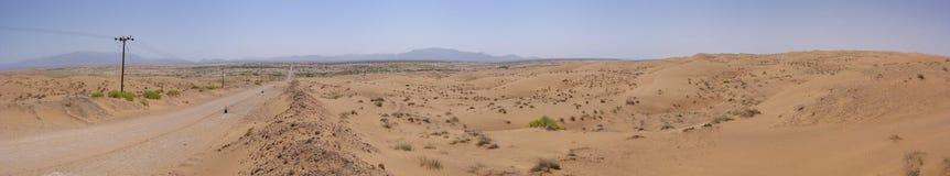 所有卡米勒的沙漠,阿曼 免版税库存照片