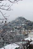 所有在下雪附近 图库摄影