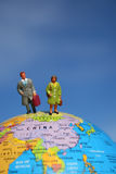 所有在企业世界范围内 免版税库存照片