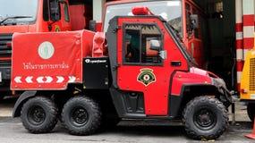 所有地域的微型消防车在曼谷 免版税库存照片