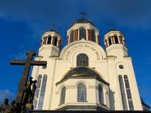 所有大教堂说出圣徒名字 免版税库存照片