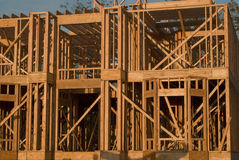 所有建筑木头 库存图片