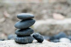 所有成功有好支持,禅宗石头,平衡,岩石,平安的概念 库存图片