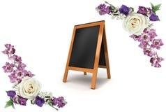 所有所有构成要素花卉例证各自的对象称范围纹理导航 花构成做 免版税图库摄影