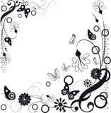 所有所有构成要素花卉例证各自的对象称范围纹理导航 免版税库存图片