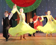 所有所有舞厅舞蹈演员要素例证各自的对象称范围纹理导航 图库摄影