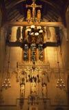 所有教堂教会城市新的圣徒三位一体&# 免版税库存图片