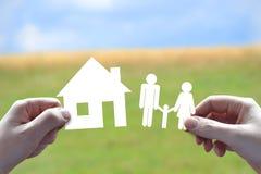 所有概念保险类型 免版税库存图片