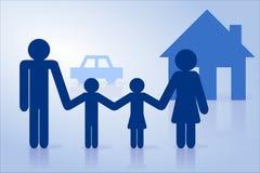 所有概念保险类型 免版税库存照片