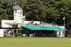 所有爱尔兰马球俱乐部 beckett桥梁都伯林爱尔兰liffey河塞缪尔 免版税库存照片