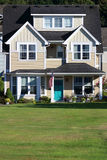 所有美国房子 免版税库存照片