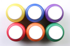 所有艺术性的画笔上色表达式孩子没&# 免版税库存图片
