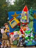 所有迪斯尼乐园快速星形 库存照片