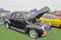 所有钢战前小轿车 免版税库存图片