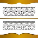 所有细部图要素功能锻件框架高度特殊地实施了增量联接金属原来的向量 库存例证